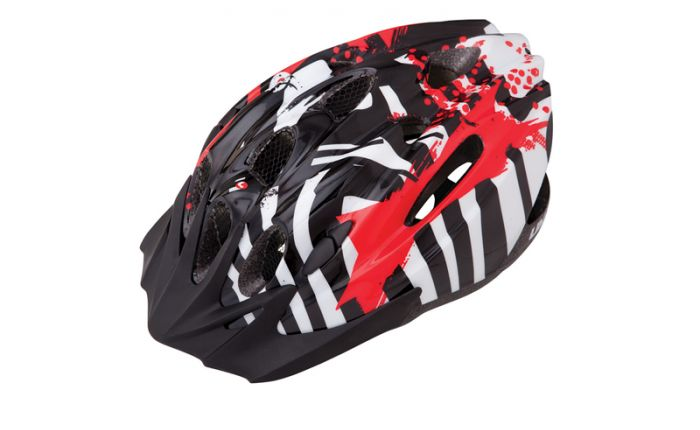 R2498 Casca LIMAR 515 Black Red 50-56cm
