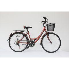 "MO18109-42 Bicicleta MOON California 26"" maro 420 mm"