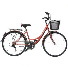 "MO18109-46 Bicicleta MOON California 26"" maro 460 mm"