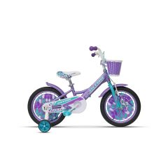 "ULT18004 Bicicleta ULTRA Larisa 16"" roti alum. - mov"