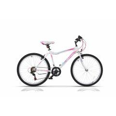 "ULT18015-46 Bicicleta ULTRA Gravita 26"" alb 460mm"
