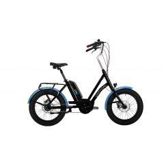 BK23280-uniBb00 Bicicleta CORRATEC Life S Active 400 negru/albastru