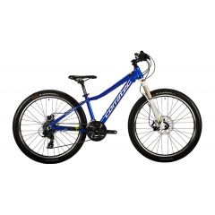 "BK23100-34 Bicicleta CORRATEC X-Vert Rock Team 26"" albastru/verde/alb 34"