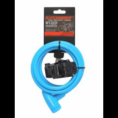 32520903 Incuietoare cablu CROSSER MT 202P - Cheie - 10mm*1800mm albastr