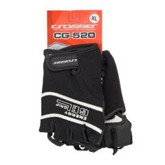 Manusi CROSSER RS-520 fara degete - negru - M