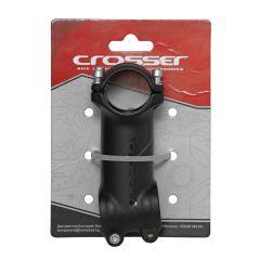 "Pipa CROSSER D507A 1 1/8"" 31.8*100mm +/-7 negru/gri"