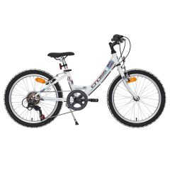Bicicleta CROSS Alissa - 20'' junior - alb