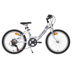 Bicicleta CROSS Alissa - 24'' junior - alb