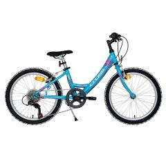 Bicicleta CROSS Alissa - 24'' junior - turcoaz