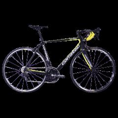 Bicicleta CORRATEC CCT Team LTD carbon / galben neon / alb - 540mm
