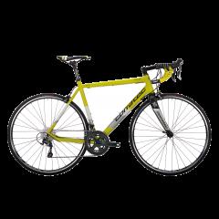 Bicicleta CORRATEC Dolomiti Expert galben neon /alb / negru - 510mm