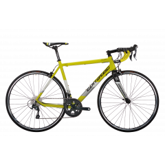 Bicicleta CORRATEC Dolomiti Expert galben neon /alb / negru - 570mm