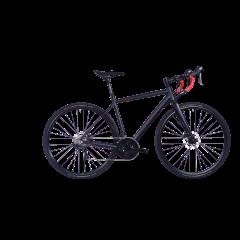 Bicicleta CORRATEC Allroad A1 gri / visiniu / negru - 550mm