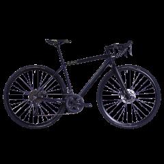 Bicicleta CORRATEC Allroad A2 albastru / galben neon / negru - 550mm