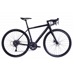 Bicicleta CORRATEC Allroad A2 albastru / galben neon / negru - 580mm