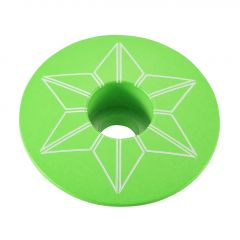 Capac furca SUPACAZ Star  - verde neon (powder coated)