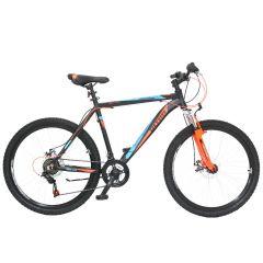 "ULT17021-44 Bicicleta ULTRA Agressor 26"" negru/portocaliu neon/albastru"