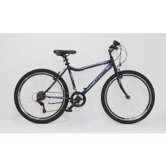 "ULT17016-46 Bicicleta ULTRA Gravita 26"" negru/mov/verde 460mm"