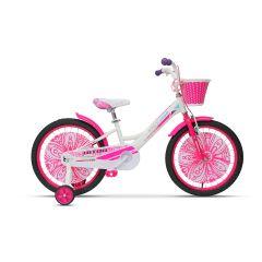 """ULT17007 Bicicleta ULTRA Larisa 20"""" alb/roz/mov"""