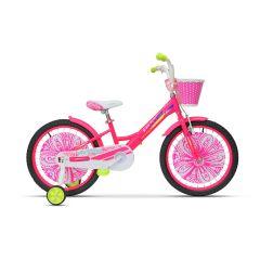 "ULT17008 Bicicleta ULTRA Larisa 20"" roz/galben"
