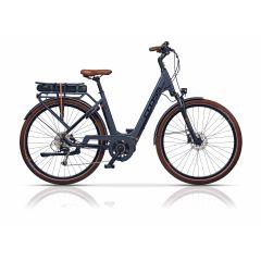 "Bicicleta CRSOSS Elegra LS 28"" E-Trekking - 550mm"