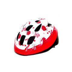 Casca HEADGY Ladybird alb/roz XS(46-53cm)