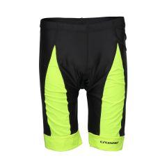 Pantaloni scurti ciclism CROSSER CW-17-106 cu bazon negru/albastru L