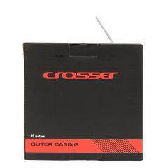 32520263 Camasa cablu frana CROSSER 2p - Rola 30m - Alb