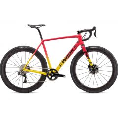 Bicicleta SPECIALIZED S-Works Crux DI2 Gloss Golden Yellow/Vivid Pink/Black 61