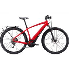 Bicicleta SPECIALIZED Turbo Vado 6.0 - Flo Red/Blue Ghost Pearl XL