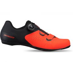 Pantofi ciclism SPECIALIZED Torch 2.0 Road - Rocket Red/Black 45.5