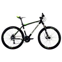 "BK21098-44 Bicicleta CORRATEC Halcon 27.5"" Negru/Verde 440mm"