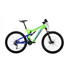 BK21042-42 Bicicleta CORRATEC Inside Link 120 Z Verde / Albastru 420mm