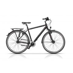 "CRS17129-48 Bicicleta CROSS Citerra Man 28"" Negru/Gri 480mm"