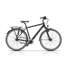 "CRS17129-52 Bicicleta CROSS Citerra Man 28"" Negru/Gri 520mm"