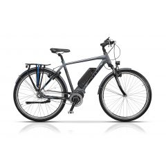 "CRS17123-60 Bicicleta CROSS Elegra City Man 28"" Gri/Negru 600mm"