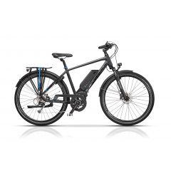 "CRS17125-55 Bicicleta CROSS Elegra Trekking Man 28"" Gri/Negru 550mm"
