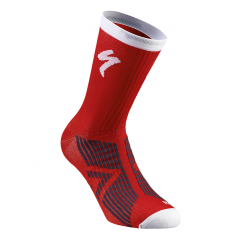 Sosete SPECIALIZED SL Elite Winter - Red/White M