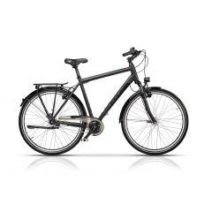 "CRS17136-65 Bicicleta CROSS Prolog XXL City Man 28"" Gri/Negru 650mm"