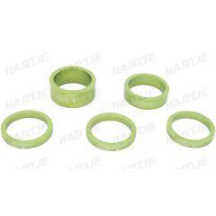 Distantiere furca CONTEC Spacer Set Select 1 1/8 - Verde