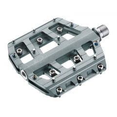 Pedale CROSSER VP-015 - aluminiu - gri