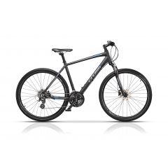 "CRS17113-56 Bicicleta CROSS Travel Man Cross 28"" Negru/Gri 560mm"