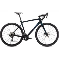 Bicicleta SPECIALIZED Diverge Sport Carbon - Gloss Forest Green/Ice Papaya/Chrome/Wild Ferns 56