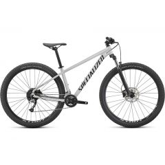 Bicicleta SPECIALIZED Rockhopper Comp 27.5 2x - Gloss Metallic White Silver/Satin Black S