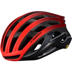 Casca SPECIALIZED S-Works Prevail II MIPS with ANGi - Rocket Red/Crimson/Black L