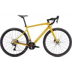 Bicicleta SPECIALIZED Diverge Sport Carbon - Gloss Brassy Yellow/Sunset Yellow/Chrome/Clean 58