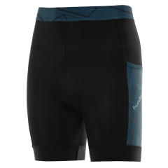 Pantaloni alergare FUNKIER Paduli-2 - Negru/Albastru 2XL