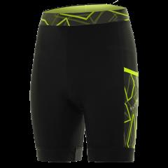 Pantaloni alergare FUNKIER Paduli-2 - Negru/Galben L
