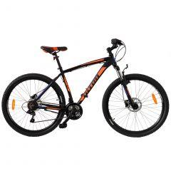 Bicicleta ULTRA Nitro 27.5'' Hidraulic - Negru/Albastru/Portocaliu 440mm