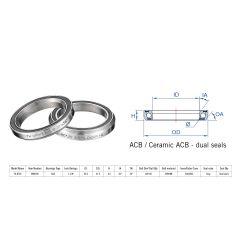 "160-6466 Rulment cuvete FSA TH-872S ACB 36x36 1""1/8 dualS MR049S"